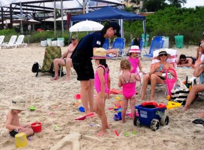 pulseiras de identificação em praias