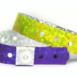 Pulseira de Identificação PVC Holográfica