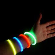 pulseira de identificação luminosa