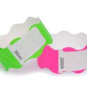 pulseira de identificação adesivo