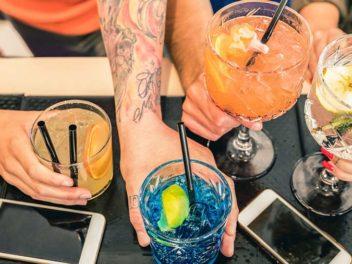 consumo de bebidas