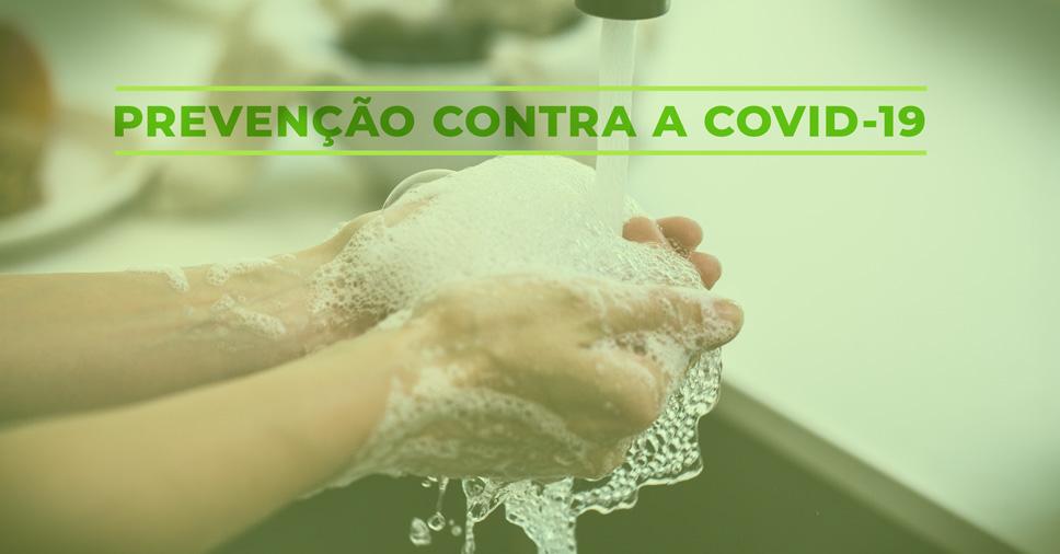 lavar as mãos contra o coronavírus